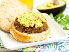 This Sweet Potato Black Bean Burgers is vegan, gluten-free, and bursting with flavor! Easy and healthy dinner idea right here!