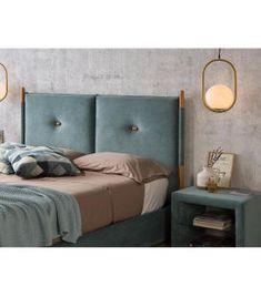 Comprar online Cabecero tapizado de estilo nórdico modelo OSLO Oslo, Ideas, Bed, Furniture, Home Decor, Upholstered Headboards, Nordic Style, Headboards, Yurts