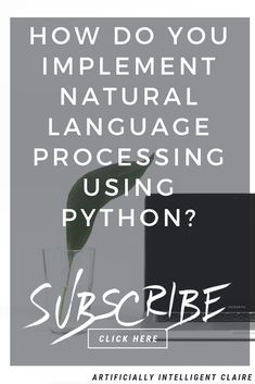 Natural language processing (NLP) using python is making this powerful technique. In this tutorial we explain the theory and how to use NLP in python. Machine Learning Using Python, Machine Learning Course, Machine Learning Models, Machine Learning Artificial Intelligence, Natural Language, School Of Engineering, Learn Programming, Python Programming