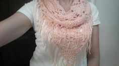 Check out this item in my Etsy shop https://www.etsy.com/listing/224738699/pretty-in-peach-triangle-cowl
