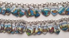 eCharmony Charm Bracelet Collection - Enamel Amalfi & Italy Shield Charms. eCharmony.com - http://echarmony.com/shieldcharms/index.php?main_page=product_info&cPath=85&products_id=1278