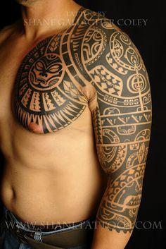 SHANE TATTOOS: Polynesian
