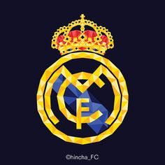 Real Madrid logo - Low Poly Vector Designs on Behance