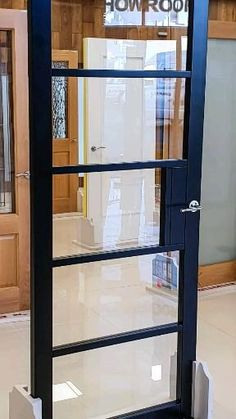 Our internal doors are designed to leave in the maximum amount of light into your home. Try these glass Crittall doors. Elegant in design and come with safety toughened glass. Available from our Showrooms and online.
