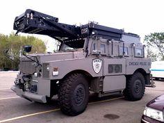 Chicago Police SWAT Truck