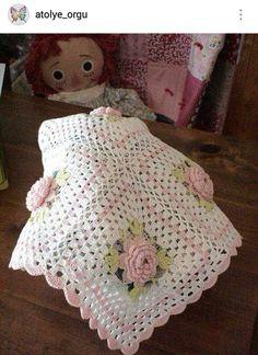 IG ~ @atolye_orgu ~ crochet baby blanket