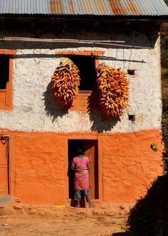 In a tiny village south of Kathmandu, Nepal