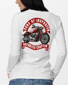 This B**ch Doesn/'t Fall Off Motorcycle Biker Rider Chopper Hoodie Pullover