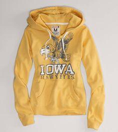 american eagle iowa hawkeyes hoodie