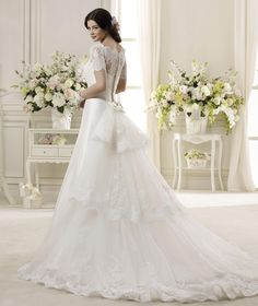 Wedding Dress Colet  COAB14011IV 2014