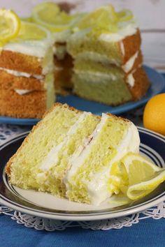 Olive Garden Copycat Lemon Cream Cake - great recipe YUM