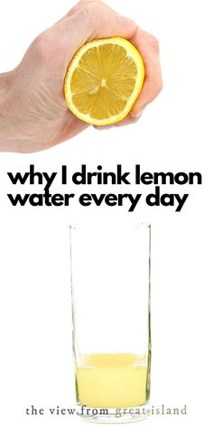Why I Start Every Day With Lemon Water ~ I've been doing this for a couple of years now and love it, but there's a lot of misinformation swirling around out there, so today I'll separate the myths from the facts when it comes to this healthy hydrating habit! #health #breakfast #lemonwater #lemon #healthyhabits Citrus Recipes, Water Recipes, Healthy Recipes, Health Tips, Health And Wellness, Drinking Lemon Water, Health Breakfast, Blood Orange, Healthy Habits