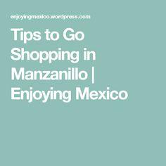 Tips to Go Shopping in Manzanillo   Enjoying Mexico