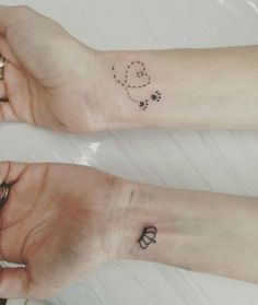 Image result for paw print tattoo daisy