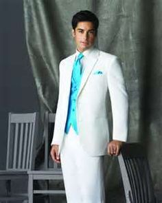 White Connery Two Button Notch by Red-Sleeve - Tuxedos | MILAN ...
