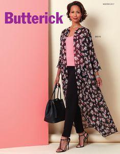 Butterick Winter 2017 Lookbook