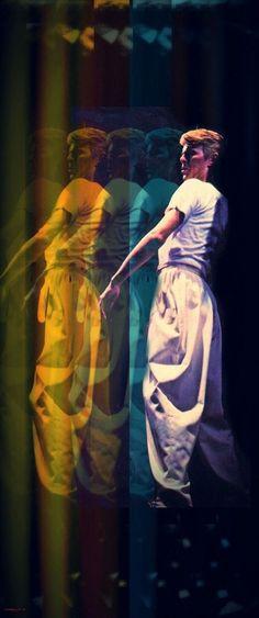 "vezzipuss.tumblr.com — David Bowie, ""Isolar 11"", Circa 78 〰️〰️"