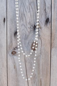 Pretty Lady Beads - Pearl