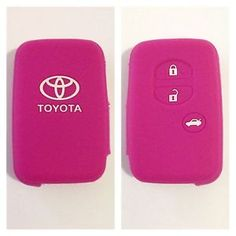 Toyota Pink CAR KEY Remote Case Camry Prius Corolla Land Cruiser 86 Aurion | eBay