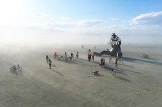 Burning Man Festival. El lugar más feliz del mundo