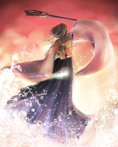 Yuna - Final Fantasy X / X-2 | by neon-crystallum