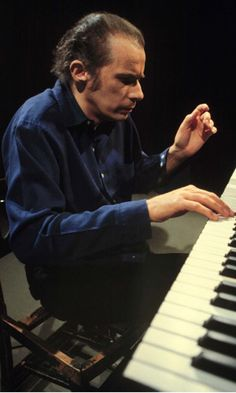 Glenn Gould - his intensity, the hands coaxing the beauty of each sound from the keys, hunched over the board as if diving into the music, the chair, of course, his chair providing no distraction.....close your eyes and listen to genius...and his humming
