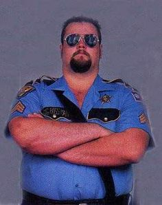 The Big Boss Man Wcw Wrestlers, Big Boss Man, Wwf Superstars, Big Show, Military History, Childhood Memories, Old School, Wwe, Dads
