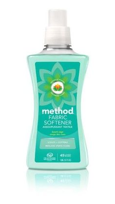 Method Method Fabric Softener, Beach Sage, L Method Cleaning Products, Natural Cleaning Products, Method Cleaner, Method Laundry Detergent, Cordless Iron, Detergent Bottles, Fabric Softener, How To Know, Biodegradable Products