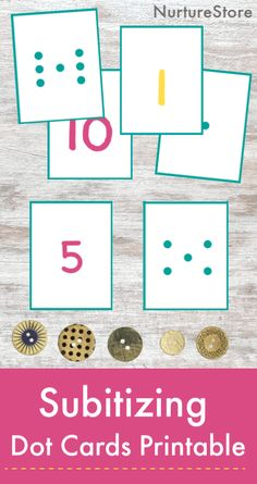 Use these free printable number dot cards to help your child learn how to subitize! Free printable subitizing dot cards math center Lots of math skills can be learned through play. It makes math… Numbers Kindergarten, Numbers Preschool, Free Preschool, Free Math, Free Printable Numbers, Printable Cards, Subitizing Activities, Felt Board Patterns, Dots Free