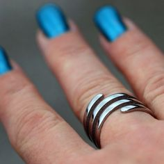 Coal Ring Trista - stainless steel