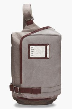 Diesel Raw Adam Messenger Bag for men   SSENSE