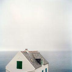 A house near the ocean