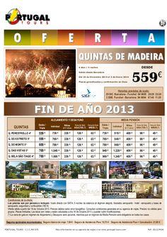 MADEIRA Fin de Año 2013 Quintas de Madeira 6d/5n salida vuelo directo Barcelona desde 559 € - http://zocotours.com/madeira-fin-de-ano-2013-quintas-de-madeira-6d5n-salida-vuelo-directo-barcelona-desde-559-e/