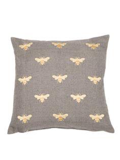 Honey Bee Cushion