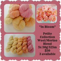 In Bloom Petite Collection | Red Riding Hood Yarns