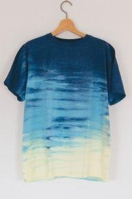 """■TEE■""""アンクルS"""" 一推し「ホライゾン染め・TEEシャツ」Men's 海を着よう!4カラー「8011General Store   ハワイジェネラルストアー 」"""