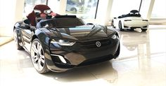This electric sports car is just for kids