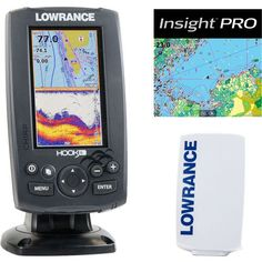 Lowrance Hook-4 Mid/High/Downscan Fishfinder/Chartplotter With Insight Pro - Boats/Motors/Marine Electronics, Marine Electronics And Radios at Acad...