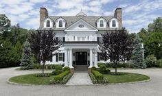 21,500 Square Foot Georgian Colonial Mansion In Greenwich, CT ...