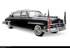 1950 Lincoln Presidential Limousine Used by Dwight D. Eisenhower