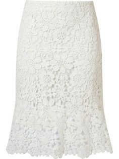 Designer Clothes, Shoes & Bags for Women Dress Skirt, Lace Dress, Skirt Outfits, Midi Skirt, White Lace Skirt, Mode Style, African Dress, African Fashion, Fashion Dresses