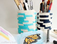 Craftberry Bush: pencil holders