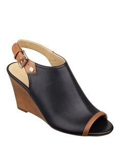 Take a look at this Black & Luggage Leather Obelia Sandal I bought at zulily today!
