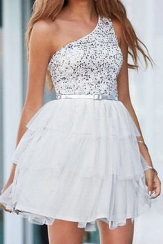 Short white dress for reception - or this