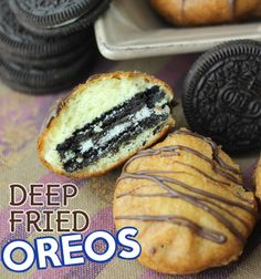 Deep Fried Oreos OMG I LOVE THESE!!!