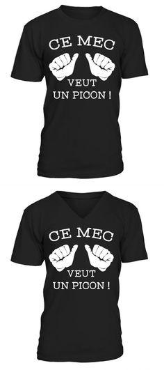 c856e621 Hobbies t shirt design ce mec veut un picon ! personalised hobbies t shirt
