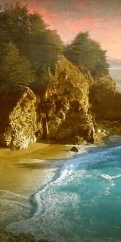 McWay Falls of Pfeiffer Big Sur State Park