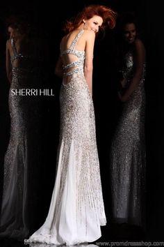Sherri Hill 8514 at Prom Dress Shop