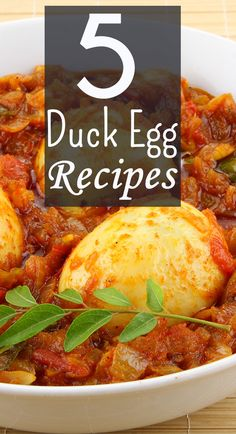 Duck eggs vary from the poultry eggs in terms of flavor, size, and nutrition. Here are 5 yummy duck egg recipes for you to try and to tease your taste buds. Recipes Using Duck Eggs, Duck Recipes, Game Recipes, Egg Recipes For Dinner, Egg Recipes For Breakfast, Crepes, Nutella, Sandwiches, Cooking Recipes