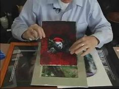 ▶ Intermediate Encaustic Wax Painting : Modifying Photos With Encaustic Painting - YouTube